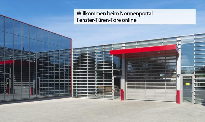 Fenster, Türen und Tore online